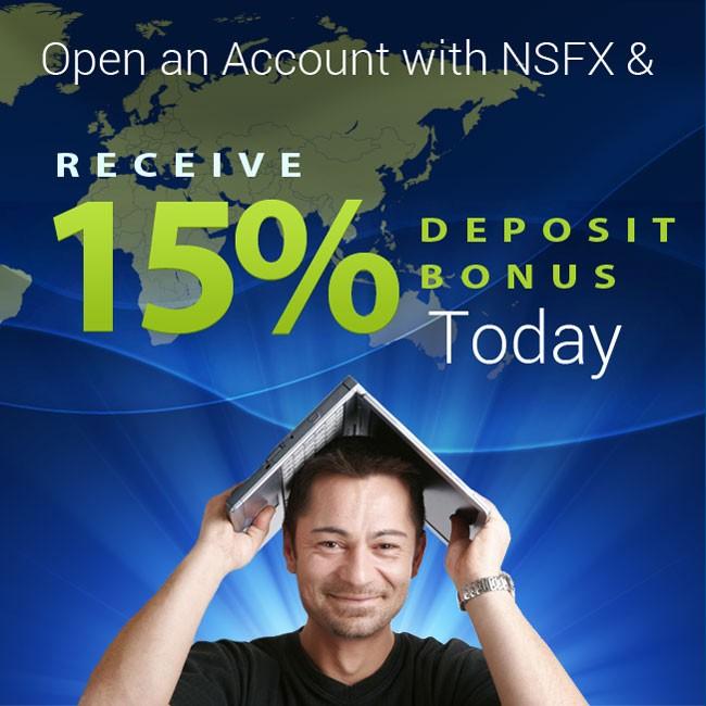 Recieve 15% Deposit Bonus Today
